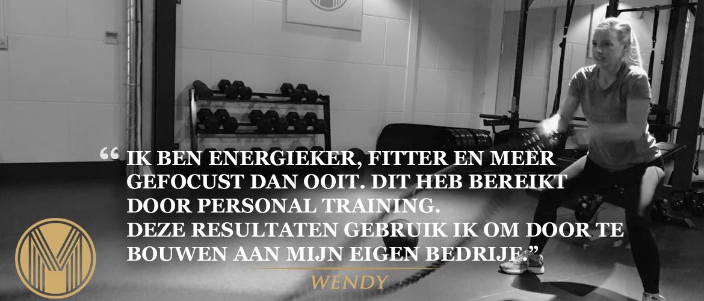 Succesverhaal - Wendy