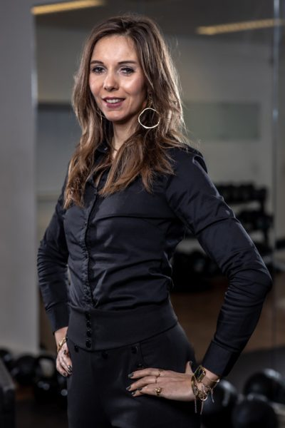 Backoffice manager - Laura - personal training