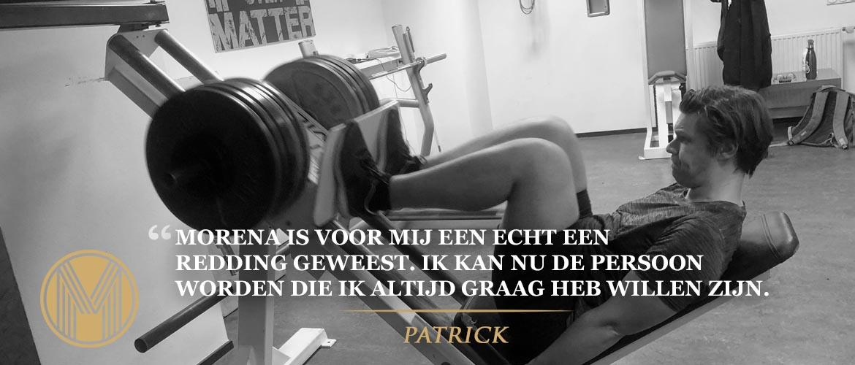 Transformatie Patrick
