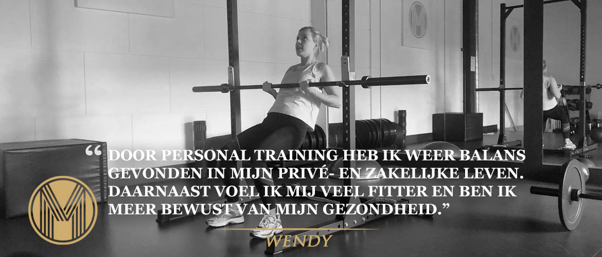 Wendy - Personal training