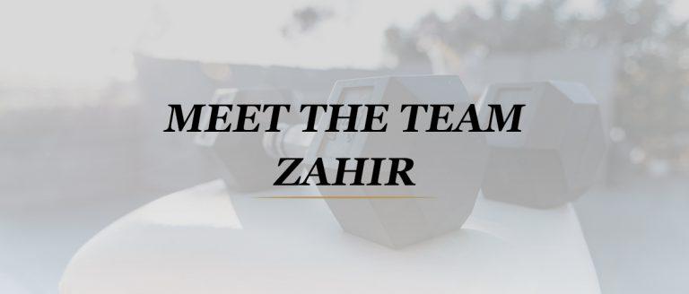 Maak kennis met krachttraining- en voedingsspecialist Zahir